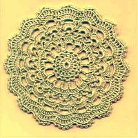 Фото круговое вязание №3825 крючком