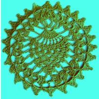 Фото круговое вязание №3829 крючком
