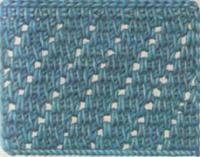 Фото тунисское вязание узор №4268 крючком
