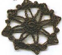 Фото ирландское вязание узор №4291 крючком