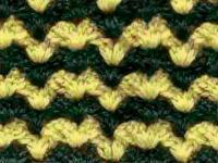 Фото цветной узор №3895 крючком