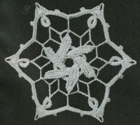 Фото узор круглые мотивы№1431 крючком