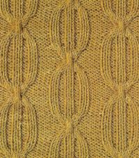 Фото узор из кос (жгутов) №1792 спицами