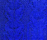 Фото объемный узор №3752 спицами