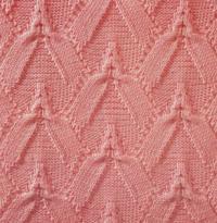 Фото узор ажурный №1807 спицами