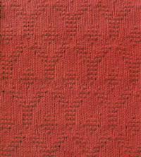 Фото узор рельефный №1813 спицами