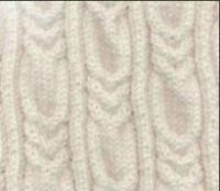 Фото узор из кос (жгутов) №1988 спицами