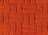 Фото узор простой №2012 спицами