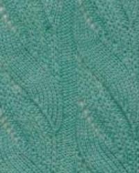 Фото узор ажурные вертикальные полосы №2546 спицами