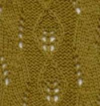 Фото узор ажурный №2547 спицами