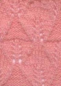 Фото узор ажурный №2548 спицами