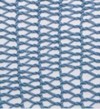 Фото узор ажурная сетка №2709 спицами