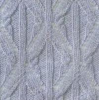 Фото ажурный узор №3471 спицами