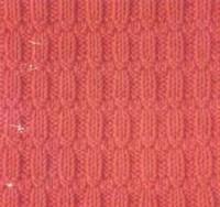 Фото рельефный узор №3493 спицами