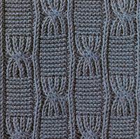 Фото узор резинка №3498 спицами