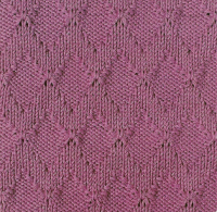 Фото узор спицами №3505 спицами