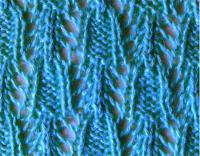 Фото объемный узор №3517 спицами