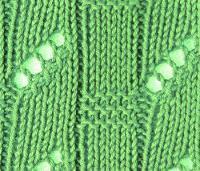 Фото узор спицами №3541 спицами