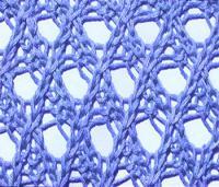 Фото ажурный узор №3547 спицами