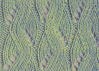 Фото ажурный узор №3556 спицами
