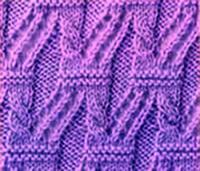 Фото узор косы и жгуты №3566 спицами