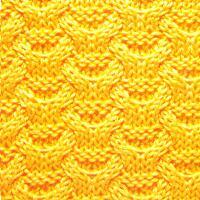 Фото объемный узор №3696 спицами