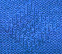 Фото рельефный узор №3735 спицами