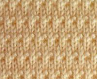 Фото узор спицами №4003 спицами
