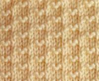 Фото филейный узор №4011 спицами