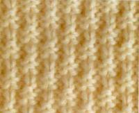 Фото узор спицами №4015 спицами