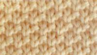 Узор горизонтальный зигзаг спицами схемы