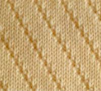 Фото узор платочная вязка №4022 спицами
