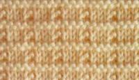 Фото узор платочная вязка №4028 спицами
