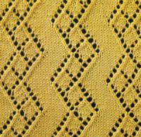 Фото узор ажурный №1626 спицами