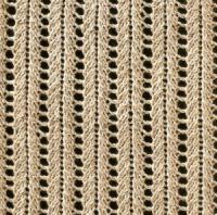 Фото узор ажурный №1630 спицами