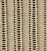 Фото узор ажурный №1632 спицами