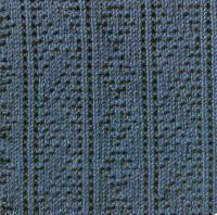 Фото узор рельефный №1656 спицами