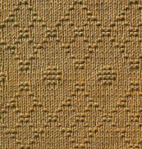 Фото узор рельефный №1672 спицами