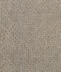 Фото узор рельефный №1677 спицами