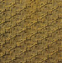 Фото узор рельефный №1678 спицами