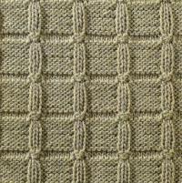 Фото узор рельефный №1679 спицами