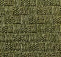 Фото узор рельефный №1680 спицами