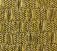 Фото узор рельефный №1681 спицами