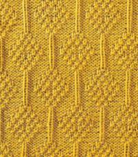 Фото узор рельефный №1688 спицами