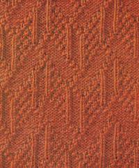Фото узор рельефный №1689 спицами