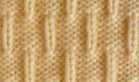Фото простой узор №4030 спицами
