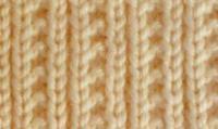 Фото узор изнаночная гладь №4044 спицами