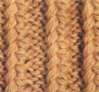 Фото узор рельефная дорожка №1343 спицами