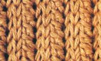 Фото узор рельефный №1346 спицами