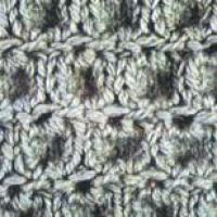 Фото узор рельефный №1347 спицами